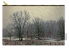 Winter's First Snowfall Carry-all Pouch