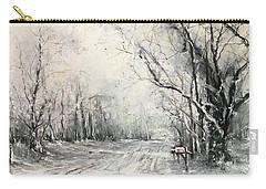 Dee Street Series Winter Wonderland Carry-all Pouch