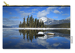 Winters Mirror Carry-all Pouch by Lynn Hopwood