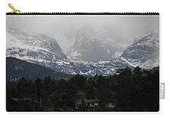 Carry-all Pouch featuring the photograph Winters Touch by Broderick Delaney