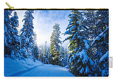 Wintertime Hdr Carry-all Pouch