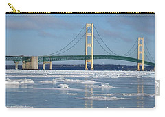 Wintery Bridge Carry-all Pouch