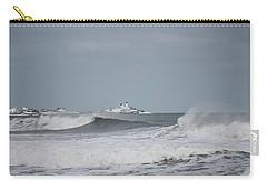 Wintery York Beach  Carry-all Pouch