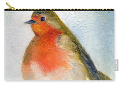 Wintry Carry-all Pouch by Nancy Moniz