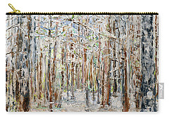 Wintry Woods Carry-all Pouch