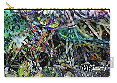 Carry-all Pouch featuring the photograph Wired by Kathy Bassett