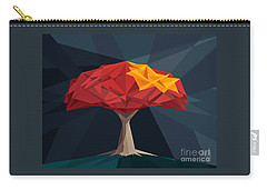 Wired Tree  Carry-all Pouch