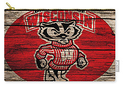 Wisconsin Badgers Barn Door Carry-all Pouch by Dan Sproul