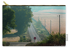 Wisconsin Rolling Hill Farmland Stop Sign Carry-all Pouch