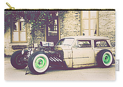Carry-all Pouch featuring the photograph Wisconsin State Journal Ratrod by Joel Witmeyer