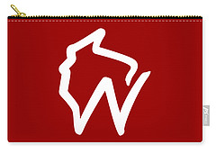 Wisconsin W Carry-all Pouch