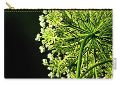 Wisconsin White Queen Anne's Lace Carry-all Pouch