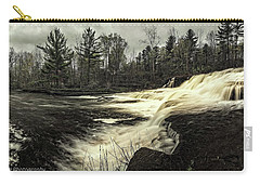 Wiscoy Creek Falls Carry-all Pouch by Richard Engelbrecht
