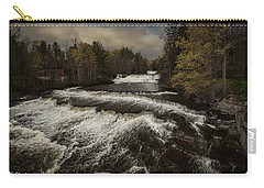 Wiscoy Falls Carry-all Pouch by Richard Engelbrecht