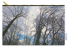Wisdom Of The Trees Carry-all Pouch by Angelo Marcialis