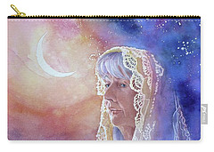 Wisdom Of The Waning Moon Carry-all Pouch