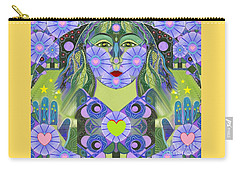 Wisdom Rising Carry-all Pouch by Helena Tiainen