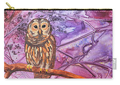 Wise One Carry-all Pouch by Nancy Jolley