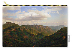 Carry-all Pouch featuring the photograph Wiseman's View by Jessica Brawley