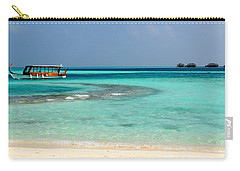 Carry-all Pouch featuring the photograph Wish I Was There by Corinne Rhode
