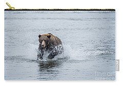 Carry-all Pouch featuring the photograph Wish Me Luck by Sandra Bronstein