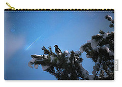 Wish Upon A Shooting Star Carry-all Pouch by Rose-Marie Karlsen