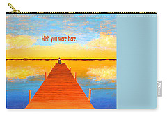 Wish - Pier - Greeting Card Carry-all Pouch