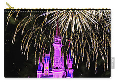 Wishes Fireworks Disney World  Carry-all Pouch