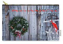 Wishing You An Old Fashioned Merry Christmas Carry-all Pouch