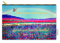 Wishing You The Sunshine Of Tomorrow Bereavement Card Carry-all Pouch