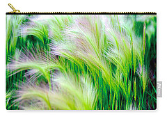 Wispy Green Carry-all Pouch