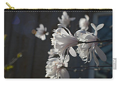 Carry-all Pouch featuring the photograph Wipsy Mini Magnolias by Tina M Wenger