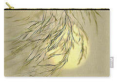 Carry-all Pouch featuring the digital art Wispy Sunset-1 by Nina Bradica