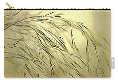 Carry-all Pouch featuring the digital art Wispy Sunset-4 by Nina Bradica