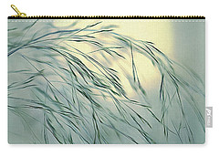 Carry-all Pouch featuring the digital art Wispy Sunset-6 by Nina Bradica