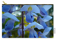 Wisteria - Blue Hooded Ladies Carry-all Pouch