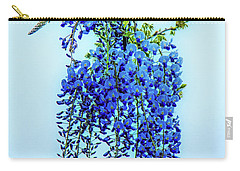 Carry-all Pouch featuring the photograph Wisteria by Chris Lord