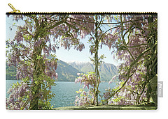 Wisteria Trellis Lago Di Como Carry-all Pouch