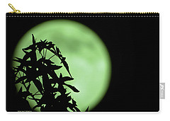 Carry-all Pouch featuring the photograph Witching Hour by DigiArt Diaries by Vicky B Fuller