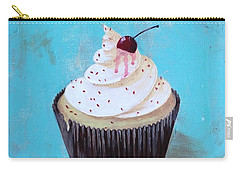 With A Cherry On Top Carry-all Pouch by T Fry-Green