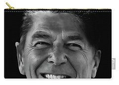 Carry-all Pouch featuring the mixed media With A Glint In His Eye ..... by Daniel Hagerman