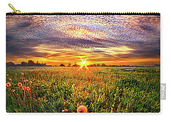 Carry-all Pouch featuring the photograph With Gratitude by Phil Koch