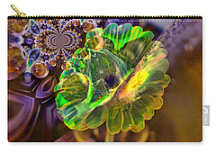 Carry-all Pouch featuring the photograph Within The Mind Meld by Jeff Swan