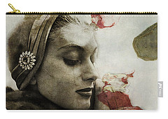 Carry-all Pouch featuring the mixed media Without You  by Paul Lovering