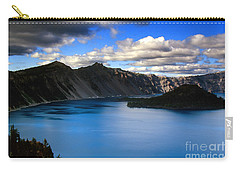 Wizard Island Stormy Sky- Crater Lake Carry-all Pouch
