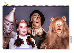 Wizard Of Oz Carry-all Pouch by Pennie  McCracken