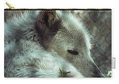 Wolf At Rest Carry-all Pouch