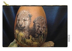 Wolf Pups  #go74 Carry-all Pouch