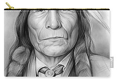 Wolf Robe Carry-all Pouch