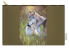 Wolf Soul Mates Carry-all Pouch